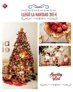 Llego la navidad 2014 ADORNOS sparkling RED
