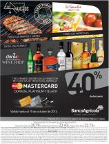 MASTERCAD dorada platinum and black DISCOUNTS - 23sep14