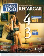 Mira esta atractiva promocion de recarga TIGO - 26sep14