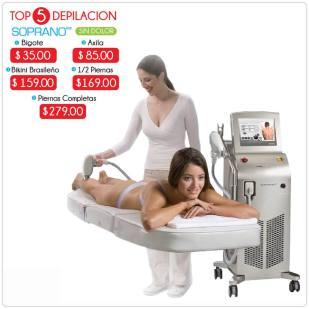 Ofertas Depilacion soprano NOVALASER clinica de belleza - 25sep14