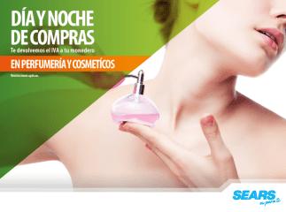 Perfumeria y Cosmeticos en PROMOCION en SEARS - 20sep14