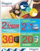 Promociones al 2x1 y descuentos en almacenes PRADO - 22sep-14