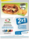 QUIZNOS sandwiches promotions banco agricola - 01sep14