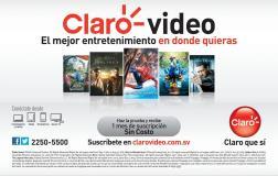 VOD stream tv sin costo CLARO video