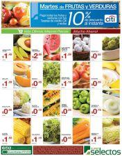 Ya sabes ahora martes frutas y verduras OFERTAS - 30sep14