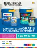 promocion galon de pinturas GRATIS protecto - 22sep-14
