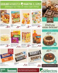 ricos postrs y pasteles de chocolate en el selectos - 29sep14
