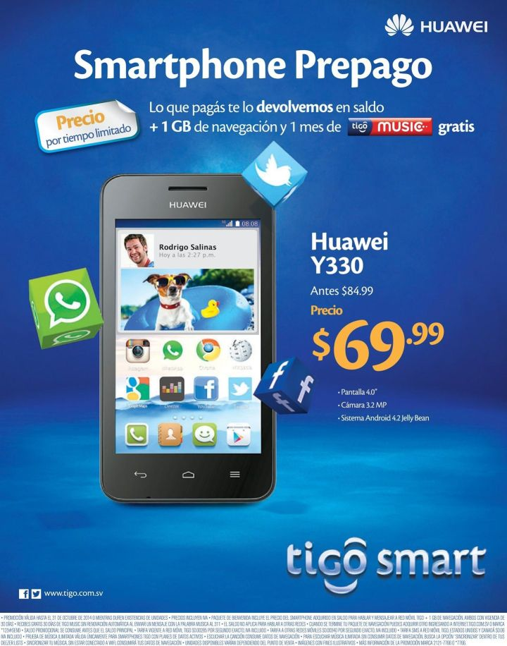 Ahora ofertas para cambiar tu smartphone con TIGO - 15oct14