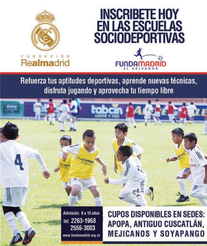 Aprender FUTBOL funda MADRID el salvador escuela de football