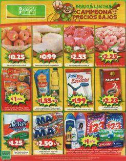 Asi los precios bajos en la DESPENSA FAMILIAR - 31oct14
