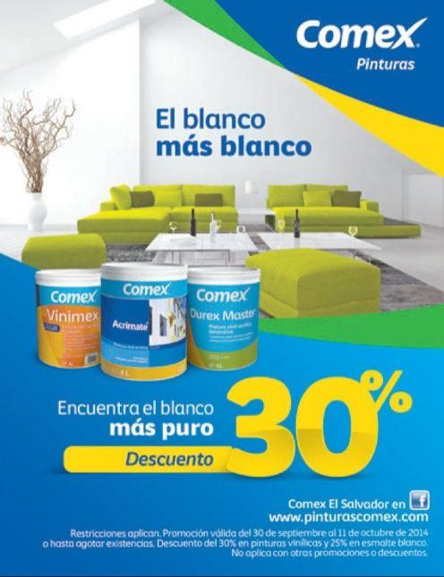 Buscas a pintura mas blanca al mejor precio COMEX - 06oct14