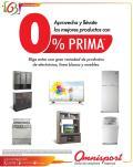 CERO prima para comprar tus electrodomesticos - 01oct14