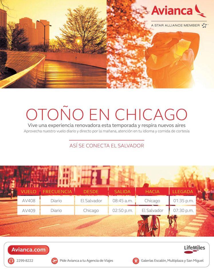 Chicago Autumn travel promotions - 20oct14