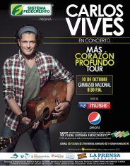 Cocierto CARLOS VIVES san salvador 2014