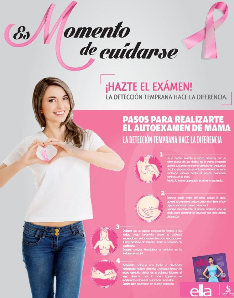Como realizar auto examen de cancer de mama