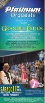 Concierto PLATINUM orquesta great hits