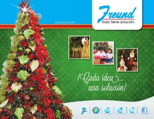DESTACADO cuadernillo ofertas de navidad 2014 freund