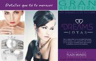 DREAM jewelry new store PLAZA MUNDO - 25oct14