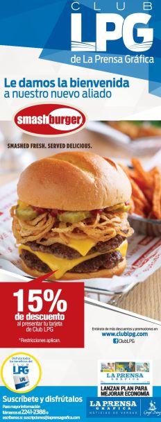 Delicious BURGER smash discounts - 23oct14