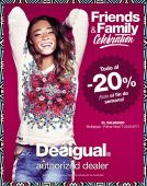 Desigual fashion store friends and family CELEBRATION - 24oct14