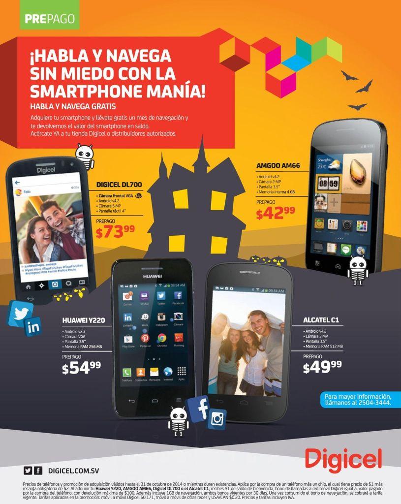 Es hora de comprar un smartphne DIGICEL - 11oct14