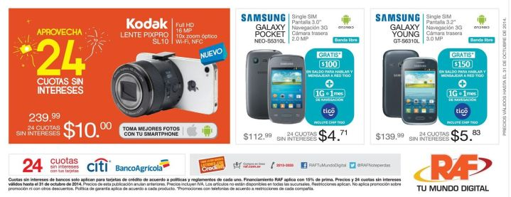 FOTOGRAFIA lente PIXPRO kodak full HD to smartphones - 24oct14