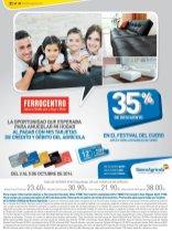 Festival del cuero y muebles FERROCENTRO descuentos - 02oct14