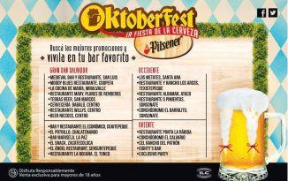 Fin de semana siue la fiesta OKTOBERFEST 2014