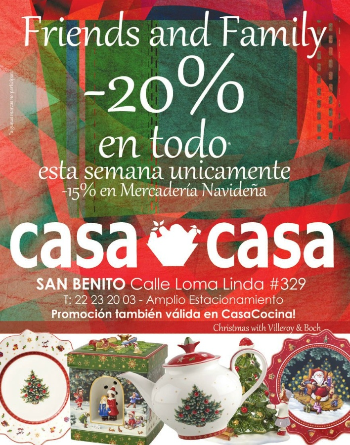 Friend and Family SALE christmas products CASA and CASA decorating - 30oct14