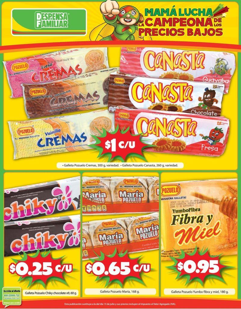 GALLETAS deliciosas ofertas mama lucha - 15oct14