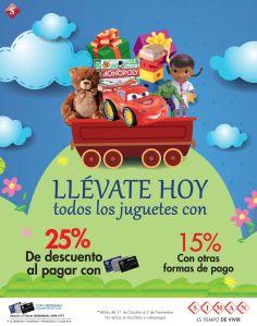 HOY todos los juguetes con DESCUENTO Siman el salvador - 31oct14