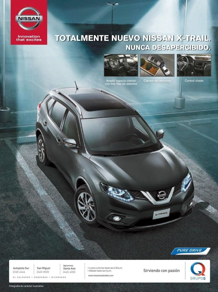 Know new NISSAN X-TRAIL 2015