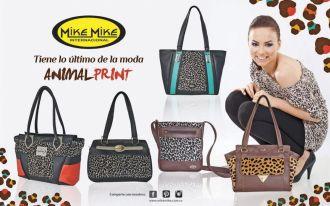 MIKE MIKE international lo ultimo en la moda ANIMAL PRINT