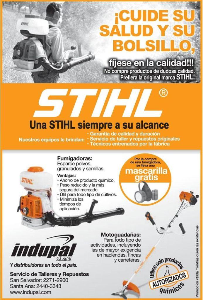 Maquinas y herramientas industriales STHIL engiene