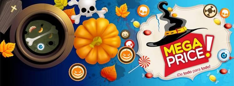 Ofertas MEGA PRICE Accesorios para tu fiesta de HALLOWEEN - 16oct14