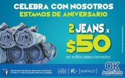 Promociones 2 jeans por 50 dolares - 03oct14