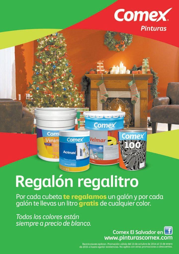Promociones en compras de pinturas COMEX - 20oct14