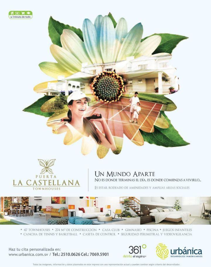 Proyectos URBANICA el salvador TOWN HOUSES Puerta la castellana