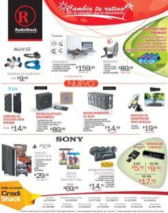 RADIOSHACK promociones Comprar GADGETS tecnologicos
