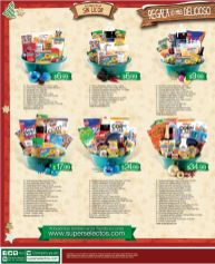 Regala canastas navideñas SUPER SELECTOS 2014