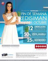 Siman centroamerica Fin de Semana con tu tarjeta credisiman - 03oct14