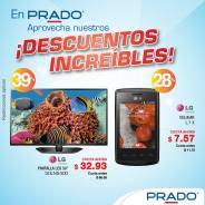 almacenes PRADO Descuentos increibles en pantallas y celulares - 16oct14