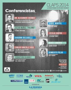conferencias marketing y creatividad CLAPS 2014