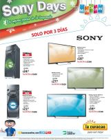 la curacao SONY DAYS promotions - 17oct14