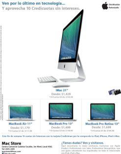 last technology Mac Book Pro retina - 18oct14