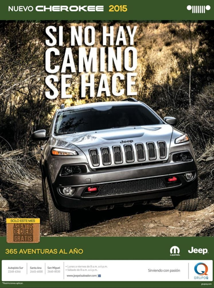 new suv CHEROKEE 2015 by JEEP motors - 22oct14