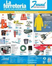 ofertas FREUND el salvador accesorios y herramientas de invierno - 17oct14
