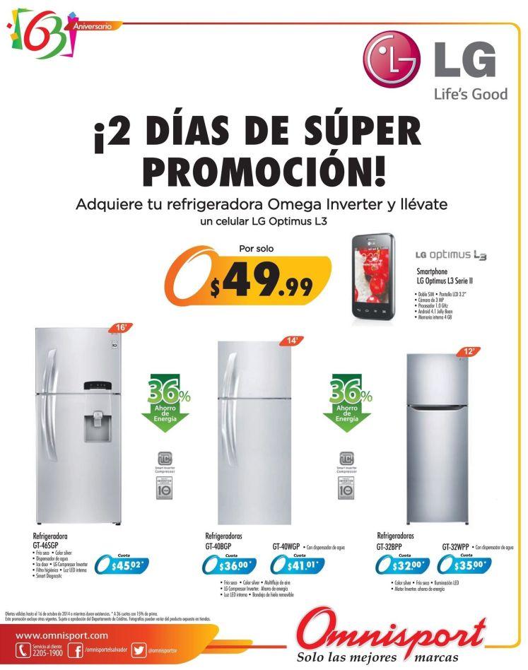ofertas OMNISPORT super promociones - 15oct14