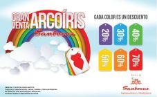 ofertas SAMBORNS el salvador VENTA de arcoiris - 15oct14