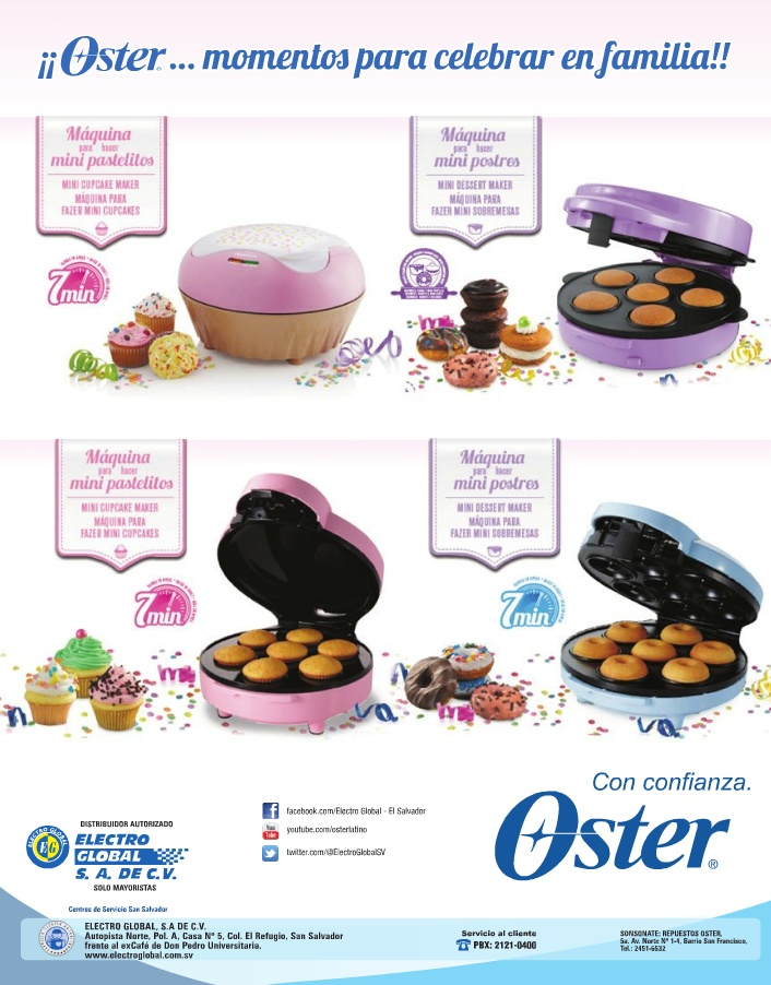 oster CUPCAKE machine engine mini desert DIY